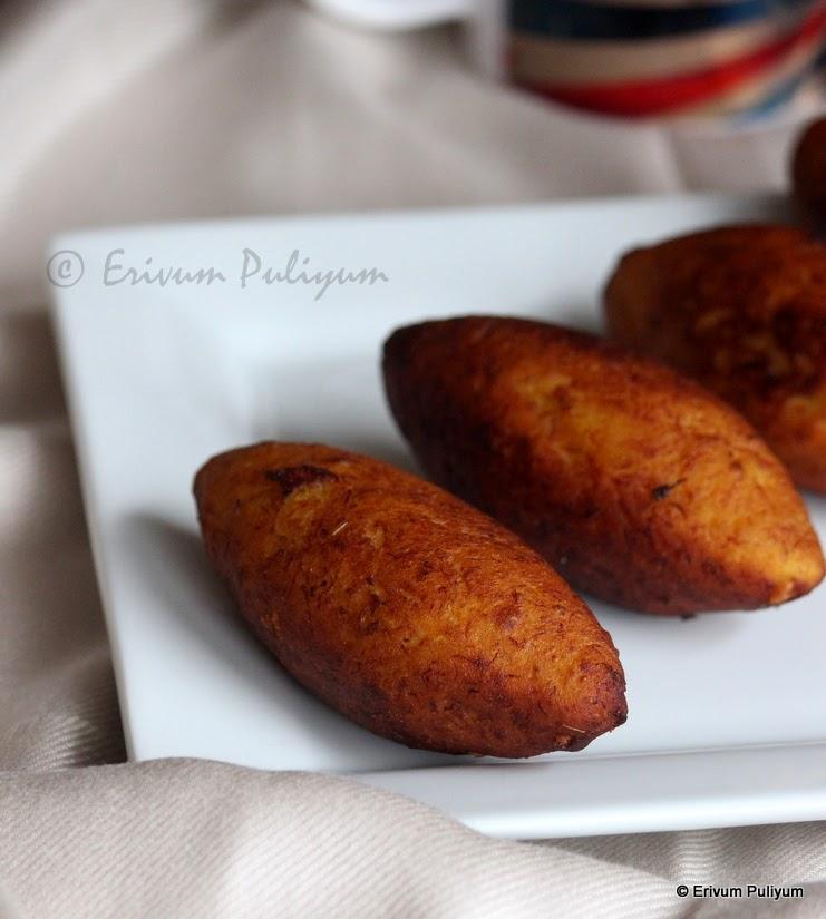 Unnakaya (Malabar Delicacy) | Stuffed Plantain Fry