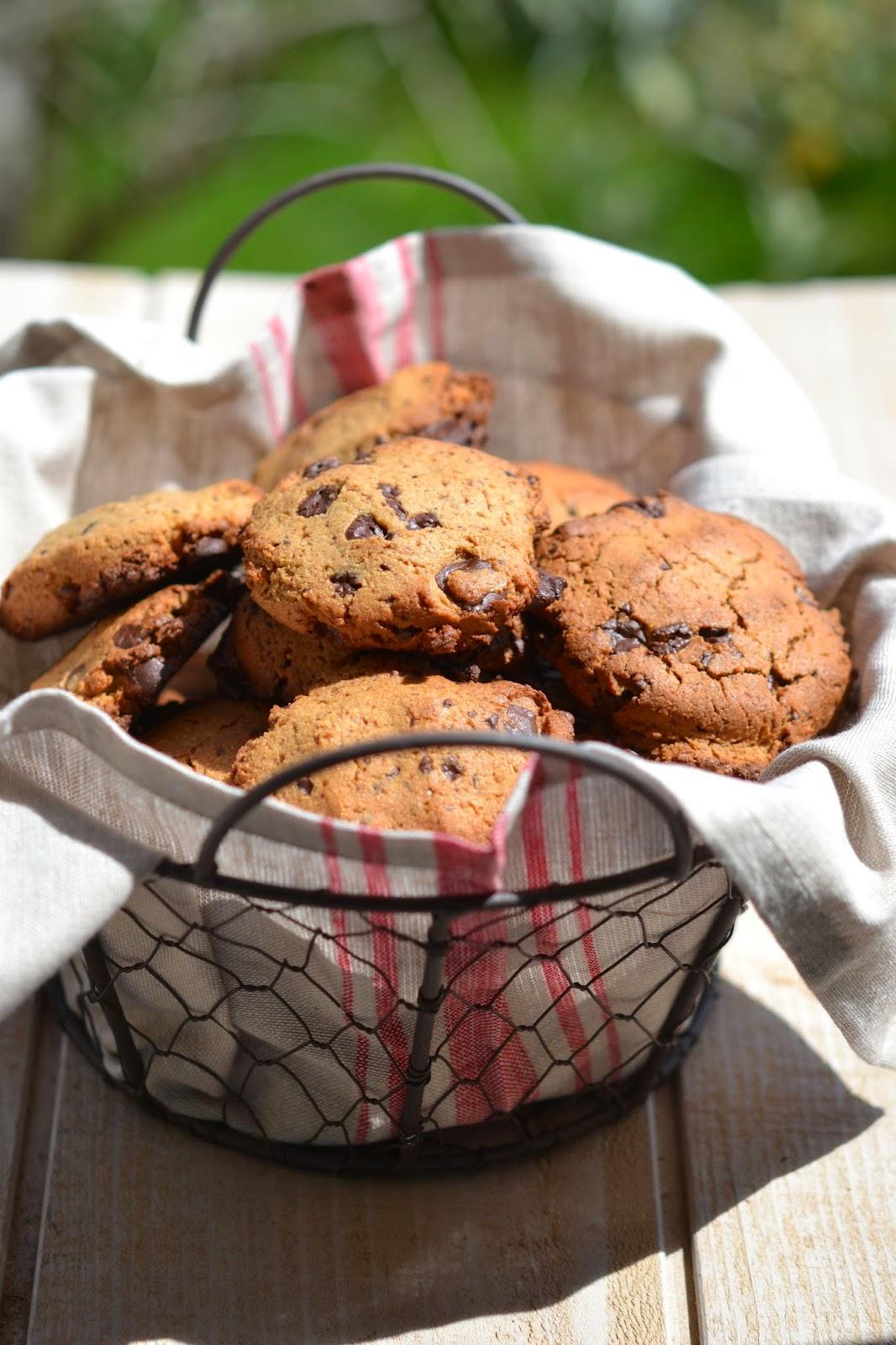 cookies croquants chocolat et beurre de coco Fromage ou Dessert ? Dessert !!!