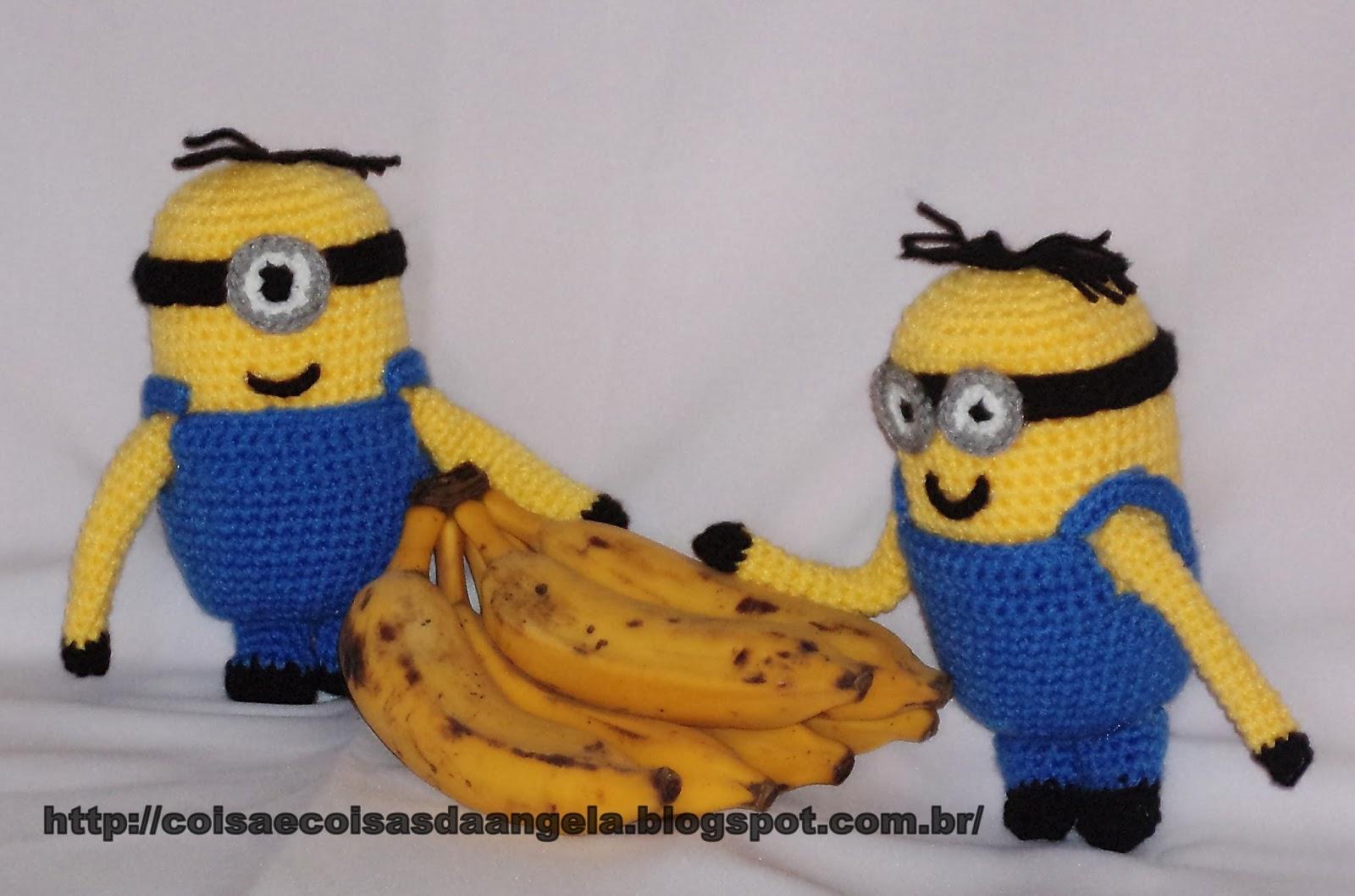 Tapete Minions De Croche : COISA E COISAS: Minions