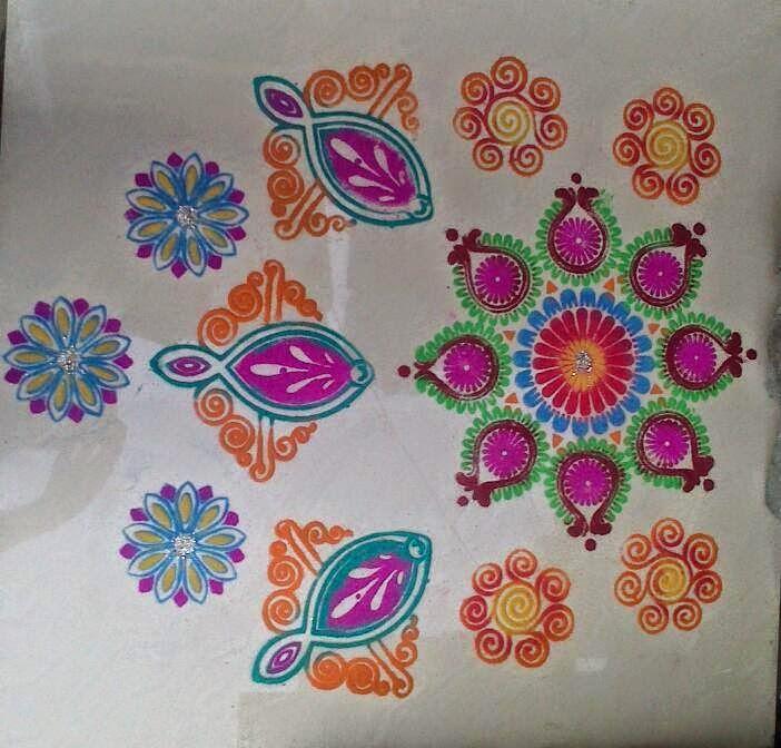 Yojna Kalaskar Kolam Designs 18