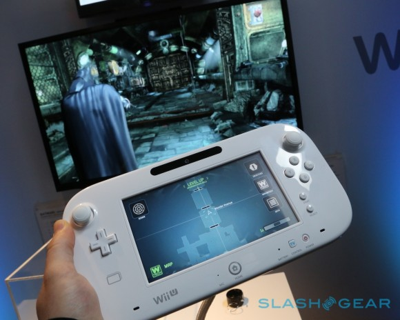Nintendo Wii U 2012 de manos