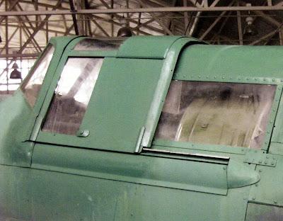 Частично бронированный фонарь кабины пилота Ил-2 КСС