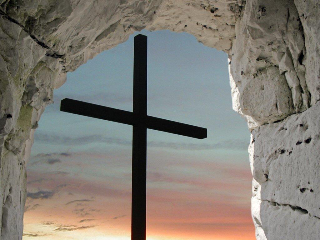 crucifix wallpaper iphone