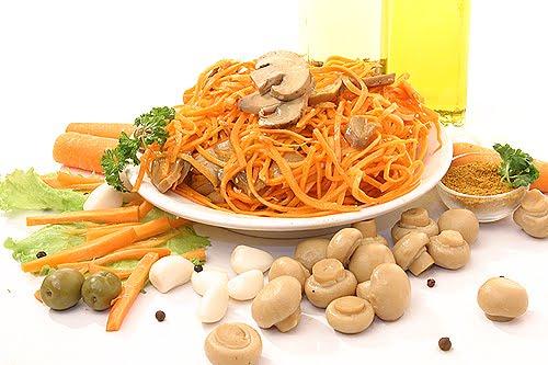 Σαλάτα Κορεάτικη με καρότα και μανιτάρια