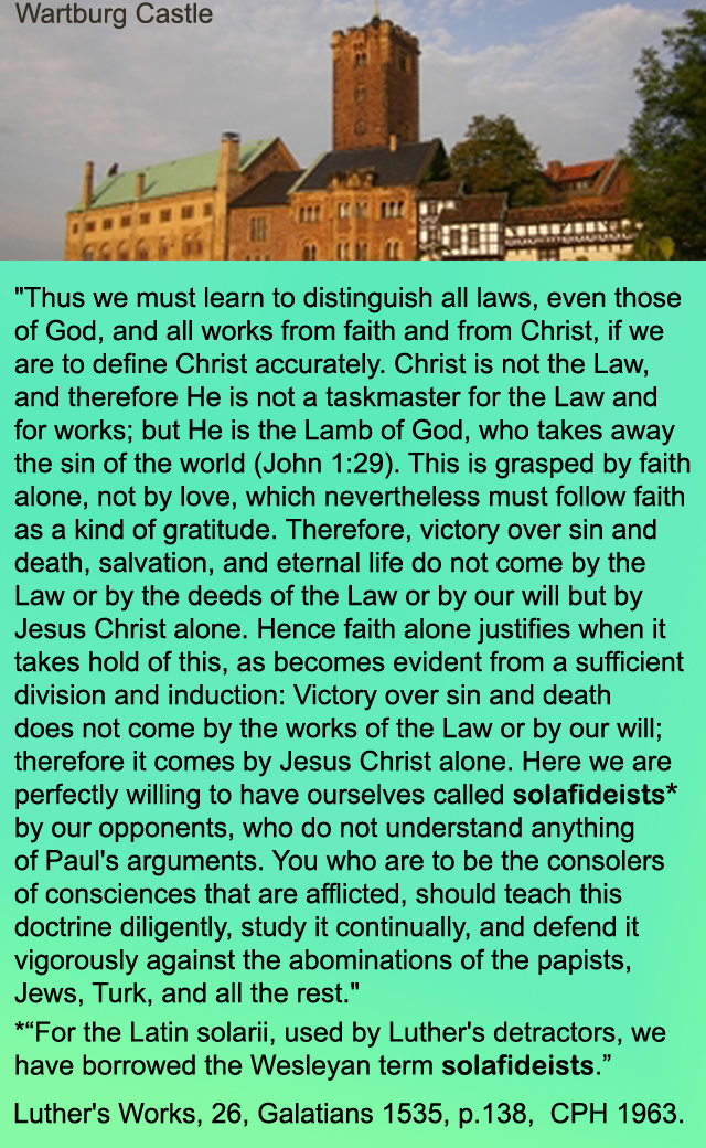 essay on justification by faith