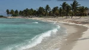 La playa de Paamul
