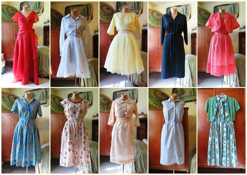cheap vintage dresses plus size