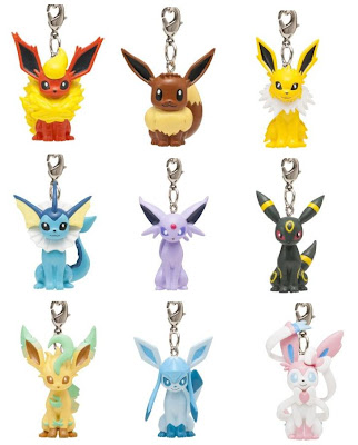 Eeveelution Figure Strap PokeCenJP