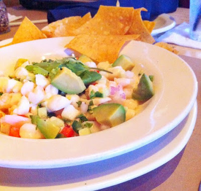 Bonefish grill copycat recipes seafood ceviche for Shrimp and fish ceviche