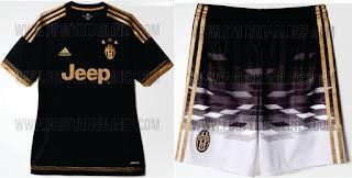 berita bocoran jersey musim depan Jersey Ketiga Juventus 2015/2016 di enkosa sport