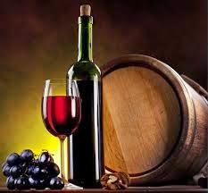 vino tinto con barrica