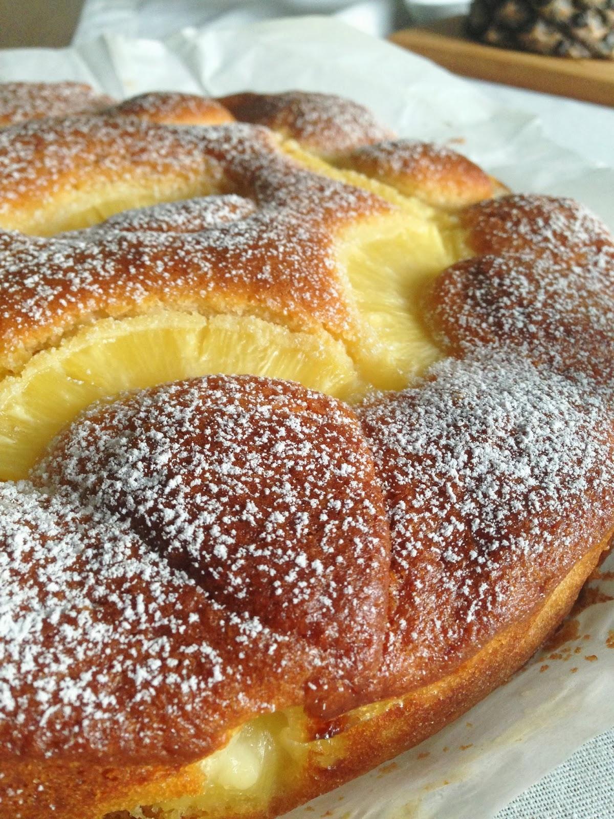 torta super soffice all'ananas