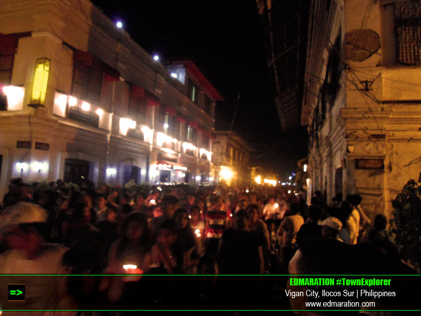 Vigan Procession; Observing the Semana Santa in Vigan
