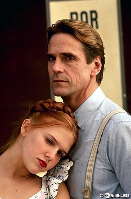 Humbert và Lolita trong phim Lolita.