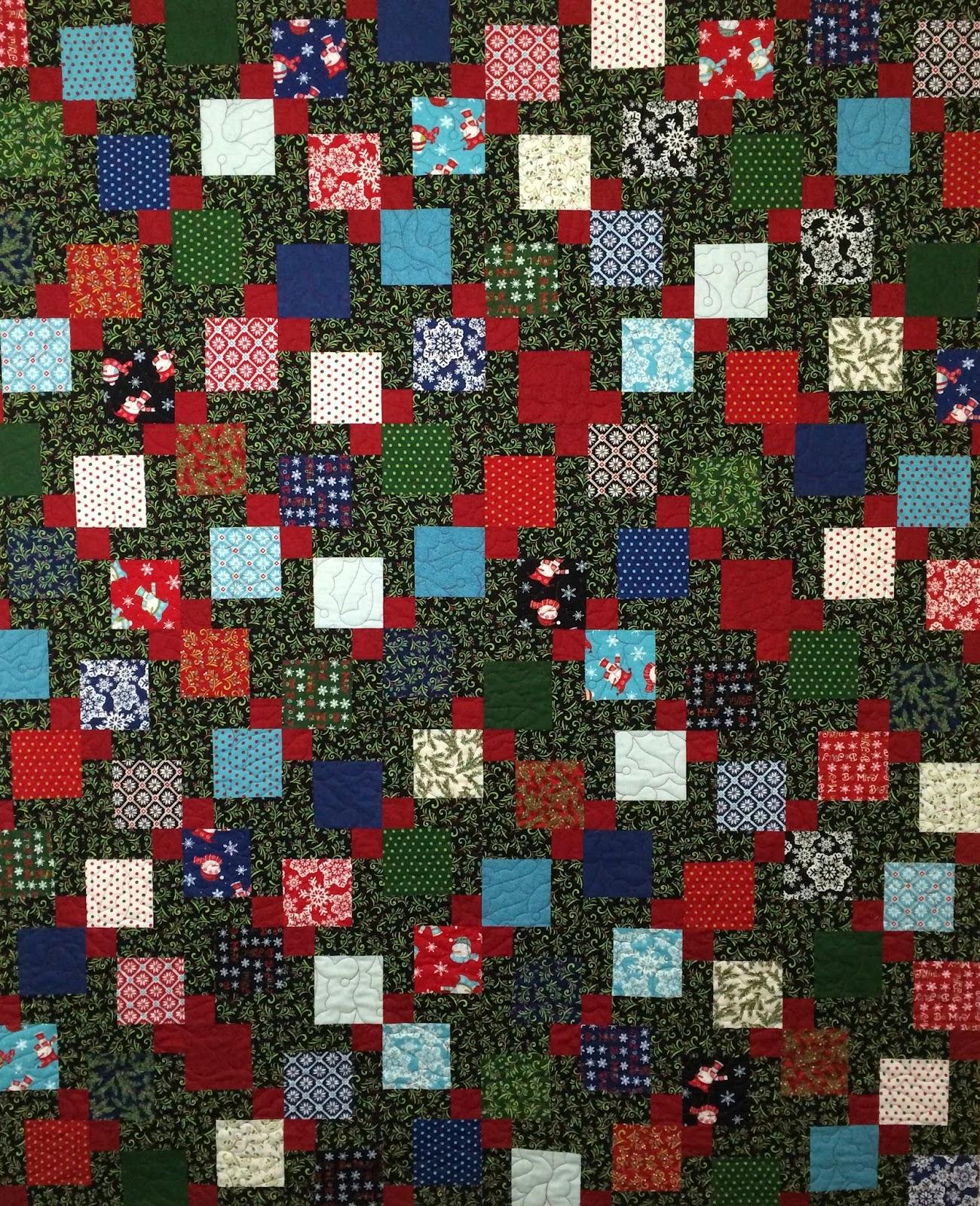 Leslie St. Onge's Christmas Quilt