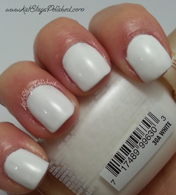 Milani Nail Lacquer - White