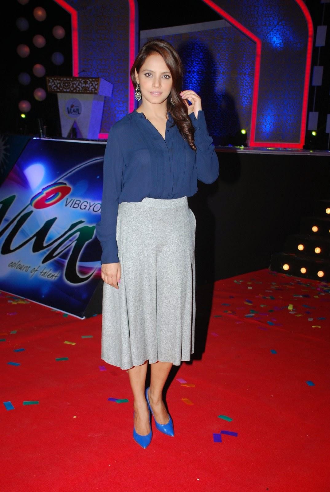 Neetu Chandra attends Vibgyor School Annual Celebration Stills