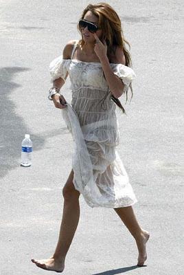 Miley Cyrus transparent clothes