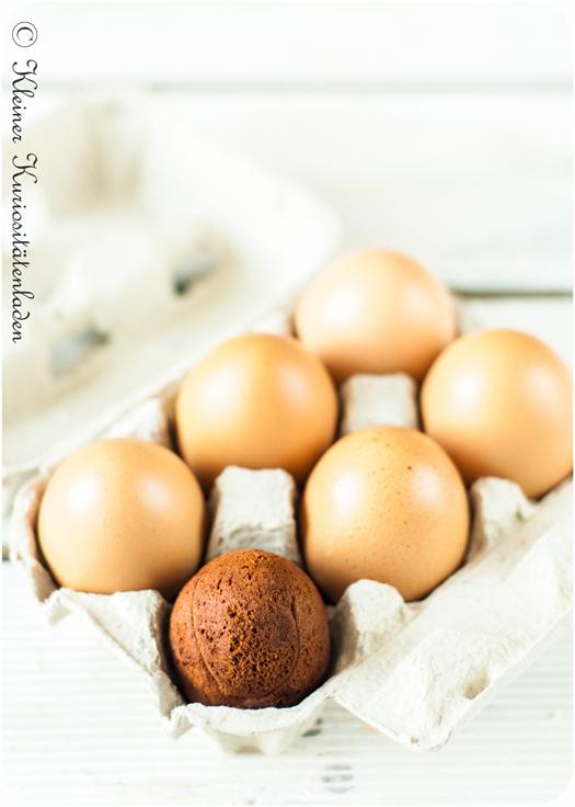 Aus dem Ei gepellt