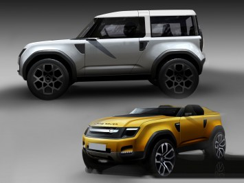 Land Rover DC100 and DC100 Sport defender concept