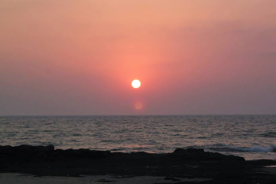 Sunset At Bhogwe Beach