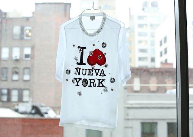 PHILLIP LIM TEE - I LOVE NY