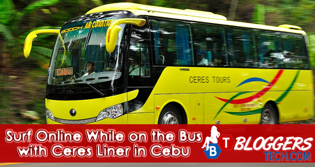 Surf Online While on the Bus with Ceres Liner in Cebu