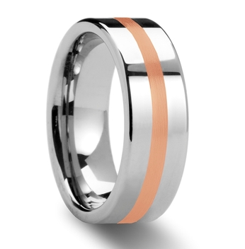 http://weddingbandsforboth.com/cerberus-rose-gold-inlaid-flat-tungsten-ring-6mm-8mm/