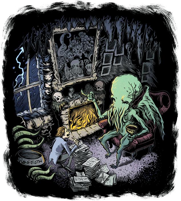 Lördagar med Lovecraft