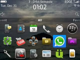 cara instal whatsaap di Blackberry