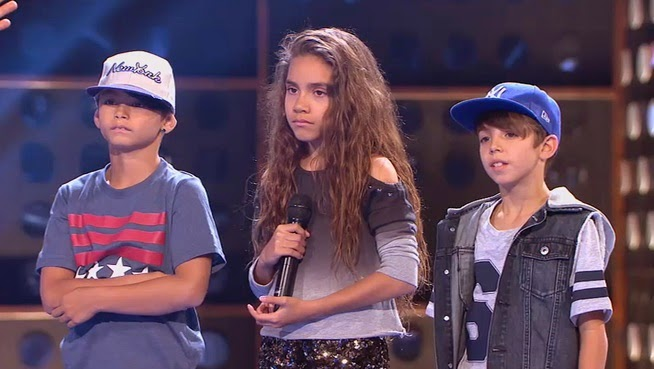 Ariadna, Felipe y Christian: Pequeños Gigantes Gala 1