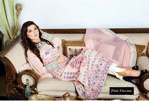 Hadiqa Kiani Eid Pret Collection 2014