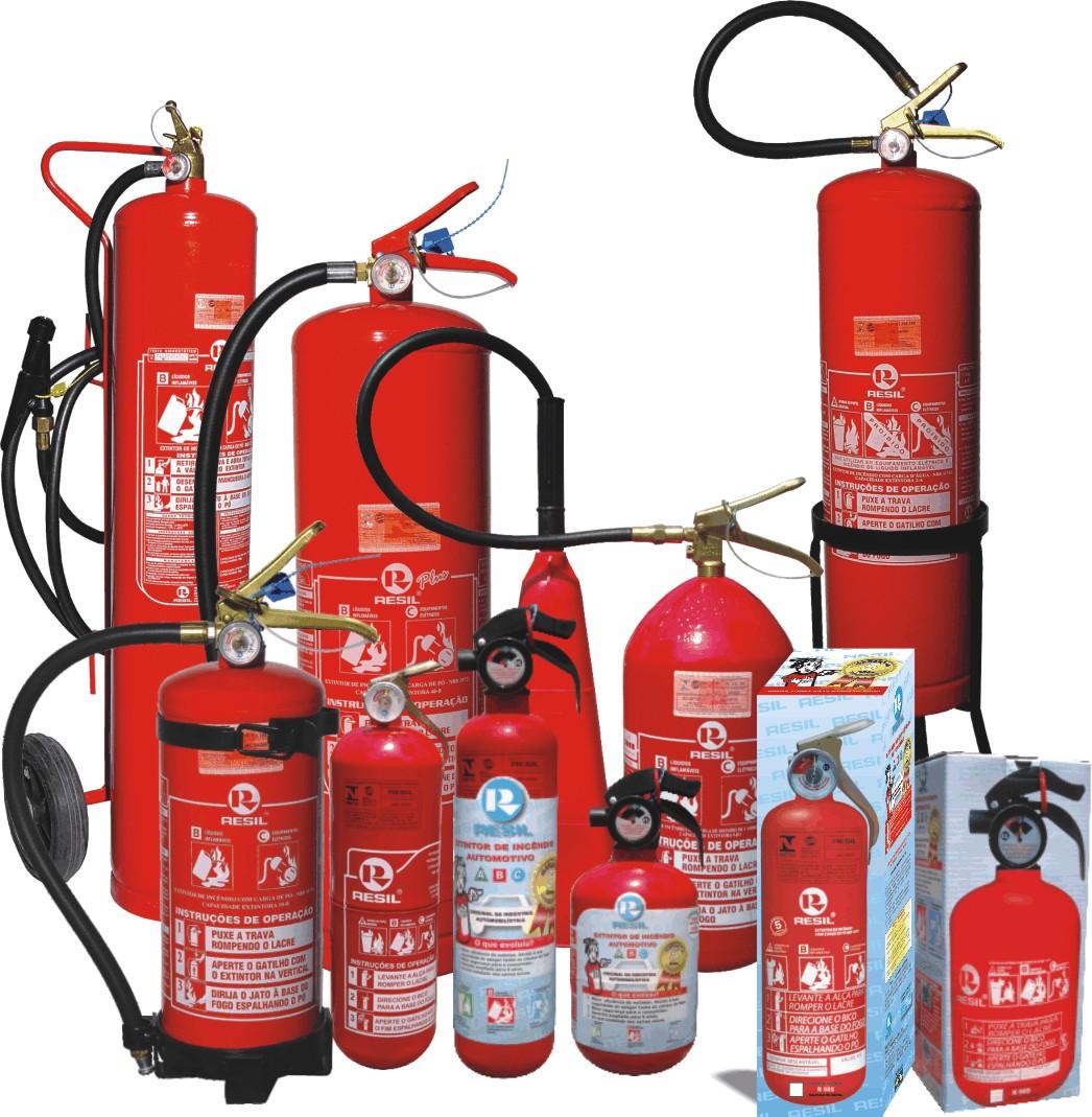 extinguidores contra incendios: