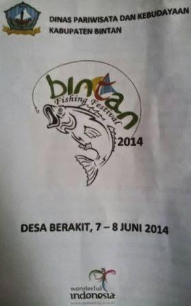 Bintan Fishing Festival 2014