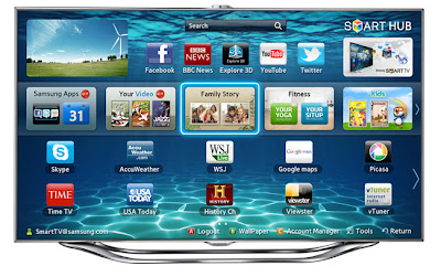 Samsung Smart TV ES8000 and ES7500, Smart TV Top Class
