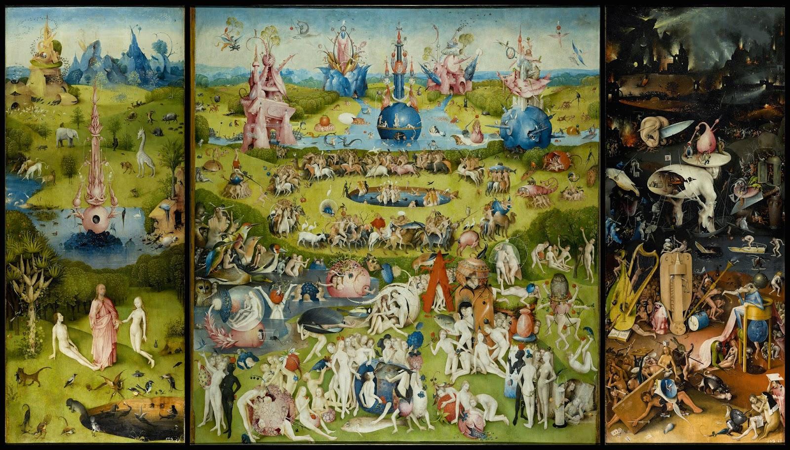 Antblog hieronymus bosch il giardino delle delizie - Il giardino delle delizie bosch ...