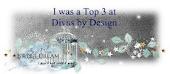 TOP 3 at Divas by design