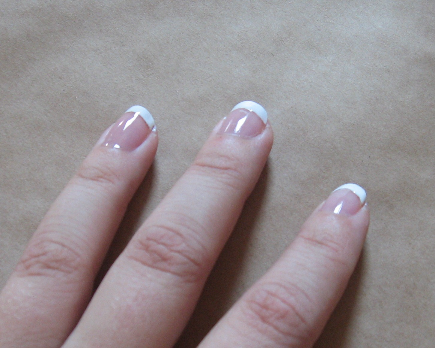 Crafts After College: Three Ways for French Tipped Nails