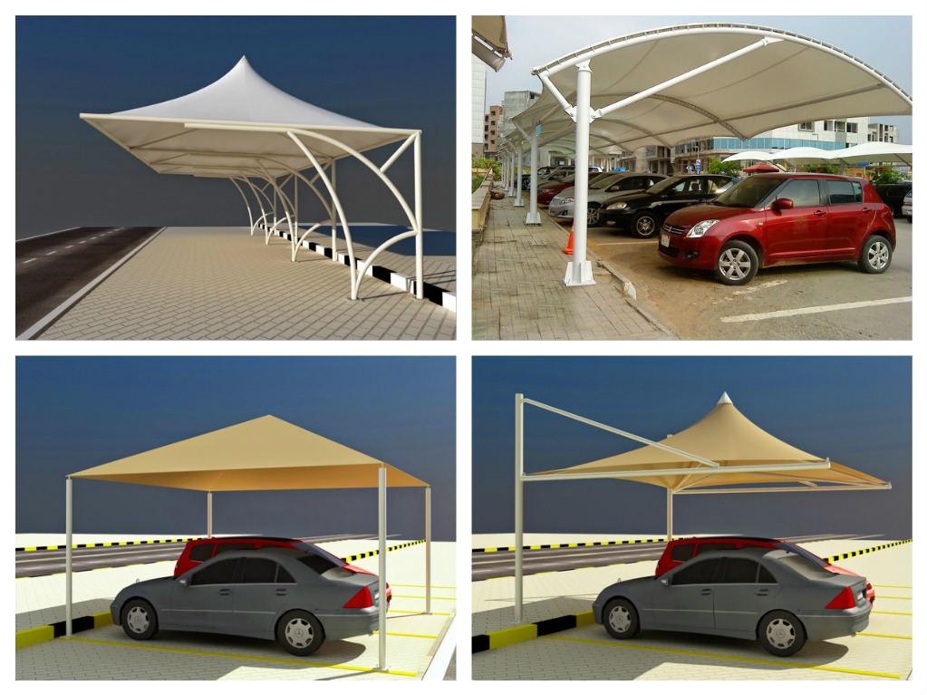 Car Parking Shades Fabric