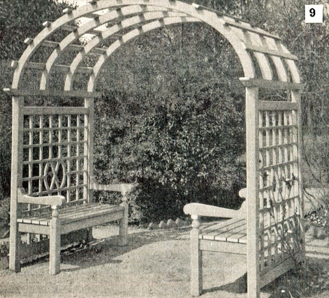 Arbor With Benches