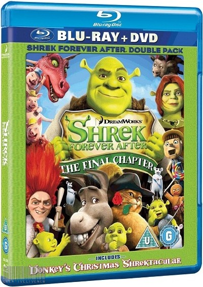 Blu-ray box Shrek Forever After 2010 disneyjuniorblog.blogspot.com