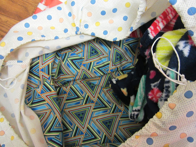 Zakka Along 2.0 Patchwork, Please - Piece-Of-Cake Shopping Bag