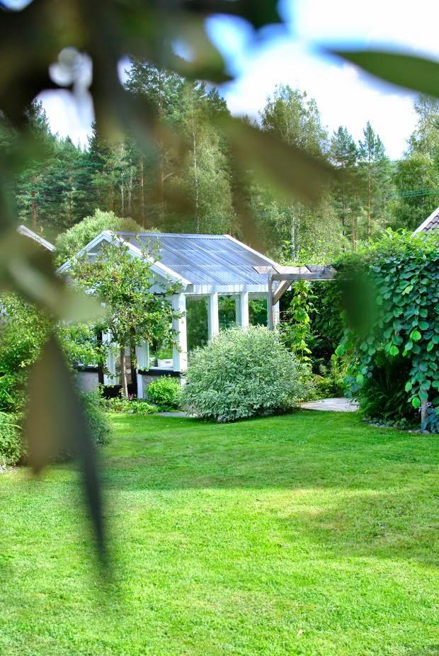 växthus trädgård pergola