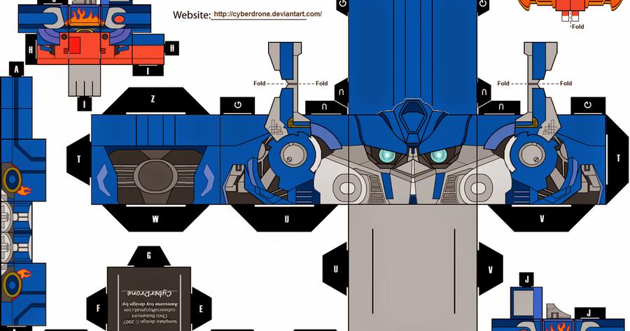 Модель робота из бумаги своими руками 53