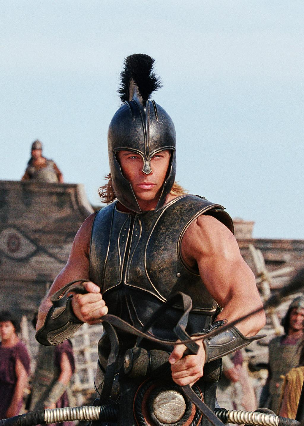Does Troy have an accurate portrayal of Achilles in the Iliad?