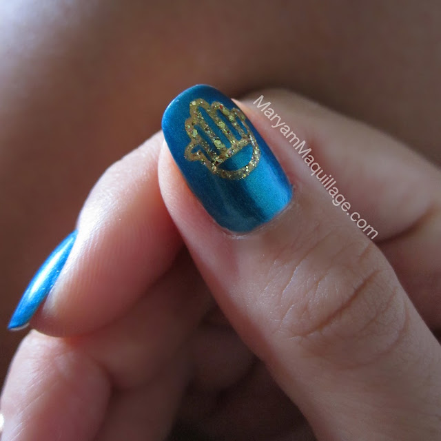 Maryam Maquillage: Islamic Nail Art For Ramadan