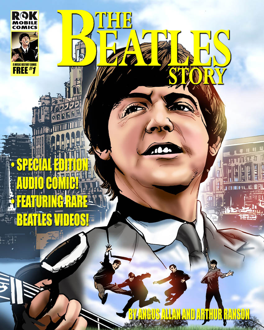 BLIMEY! The Blog of British Comics: The Beatles are back