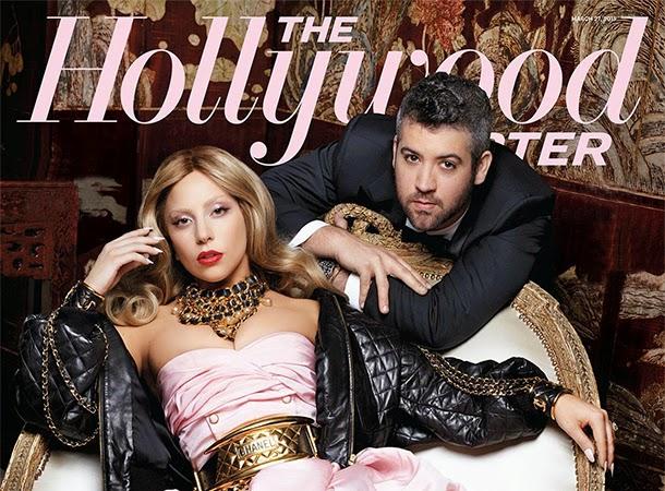 Lady Gaga The Hollywood Reporter Magazine