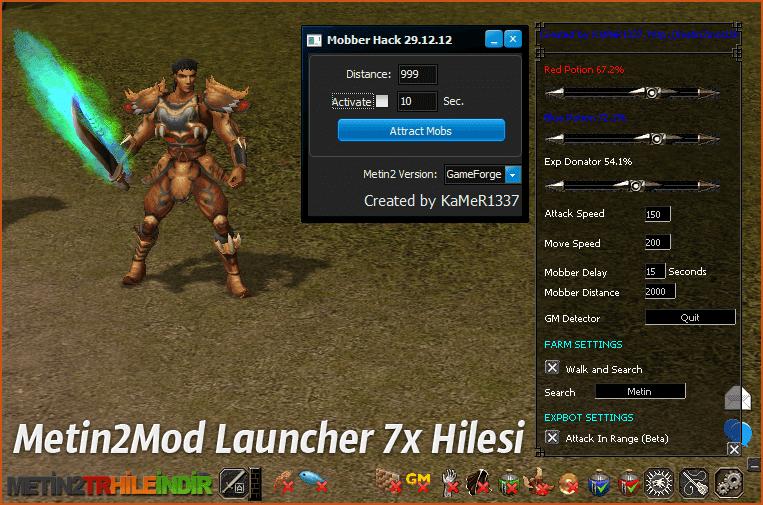 Metin2Mod Launcher 7x Hilesi 14.07.2014 indir