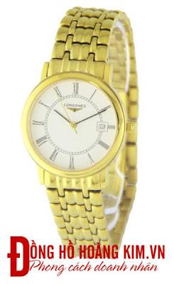 Đồng hồ nam Longines mạ vàng